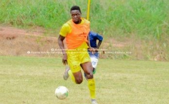 Abass Mohammed suffered the injury whiles playing for the club in a friendly against Bekwai Youth Football Club.
