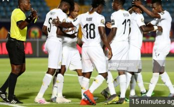 The senior national team brought massive smiles to the faces of Ghanaians as they commenced the 2021 Africa Cup of Nations qualifiers with a comfortable 2-0 win over South Africa at the Cape Coast Stadium on Thursday evening. The Black Stars had a brilliant start to the game where they enjoyed the lion share of possession. Thomas Partey opened the scoring with a beauty, firing from long range in the 35th minute. The visitors didn't coil in and forced their way through for an equalizer but the back of the net eluded them, even though they played much better until the break. Ghana returned from the recess a much more stronger side and once again dominated play. Kudus Mohammed made his debut, one that he won't forget anytime soon. He replaced Alfred Duncan in the 61st minute. The youngster took his chance very well after a solo effort and wrote his name in gold with a beautiful curler in the 80th minute to win it for the Stars. First job done in the qualifiers. Next up, the Black Stars will face Sao Tome e Principe on Tuesday.