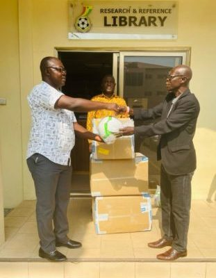 GFA presents matchday balls to premier league clubs ahead of the season