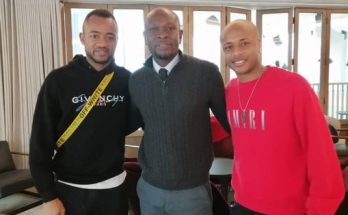Black Stars Coach C K Akonnor meets Ayew brothers in UK