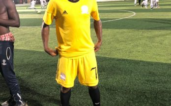 Meet Tema City's striker Kwesi Ankumah, faster than Marcus Rushford